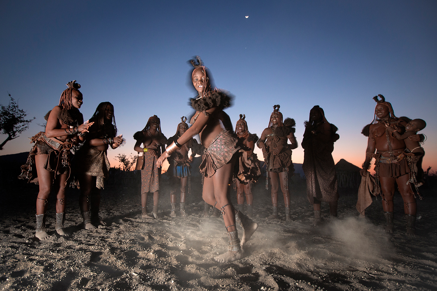 Himba people in Epupa, Namibia ©Ben McRae