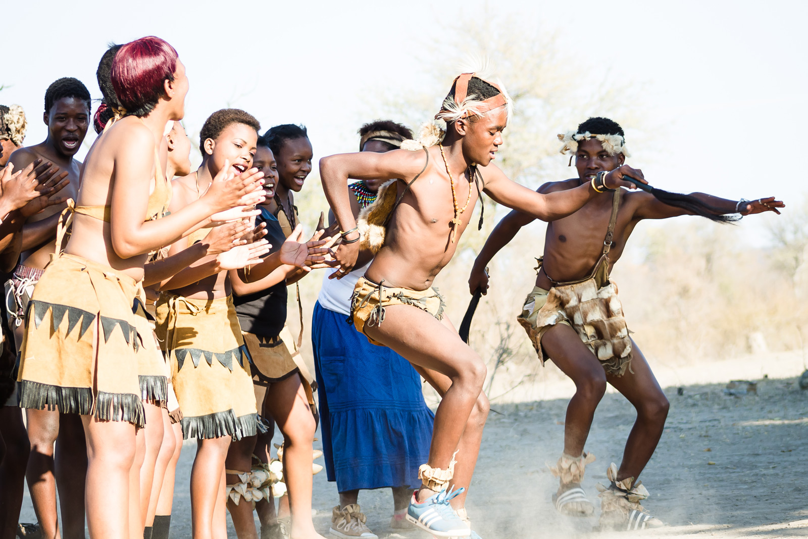 "Traditional dancers celebrate a happy union at Jaci's Lodges ©<a href=""http://www.yolandiduplessisphotography.co.za"" target=""_blank"">Yolandi du Plessis</a>"