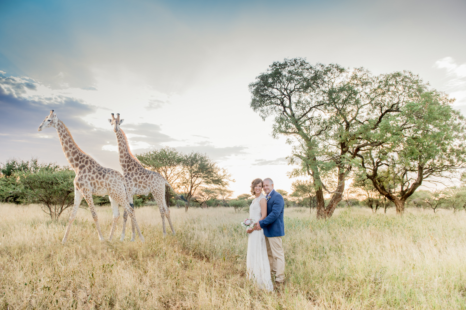 "Giraffes join the party ©<a href=""http://www.riankasweddings.com"" target=""_blank"">Rianka Conradie</a>"