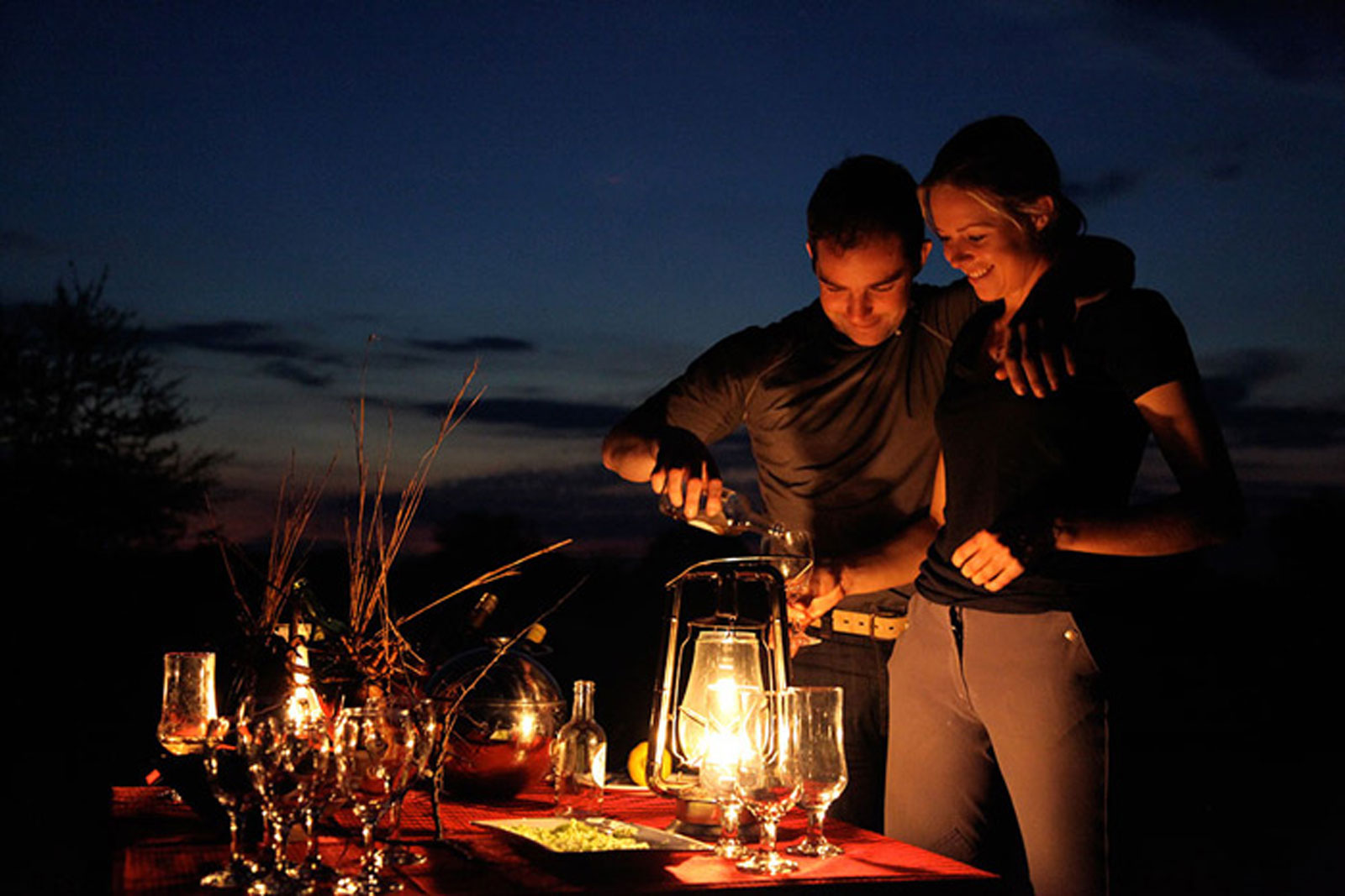 "Private dining in the bush ©<a href=http://waterberg.net/ants-nest/ target=""_blank"">Ant's Nest</a>"
