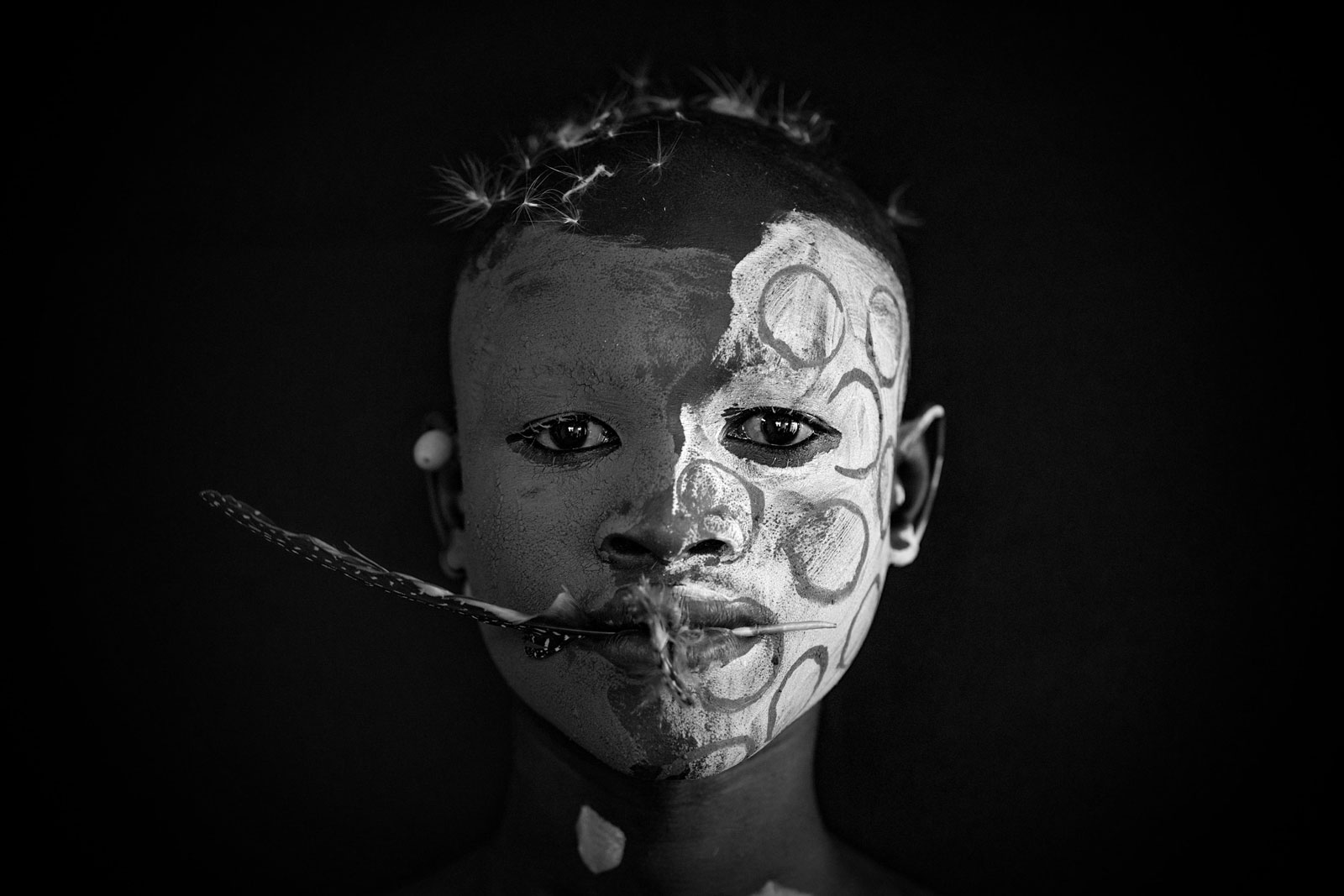 Surma tribe member in Omo Valley, Ethiopia ©Robin Yong