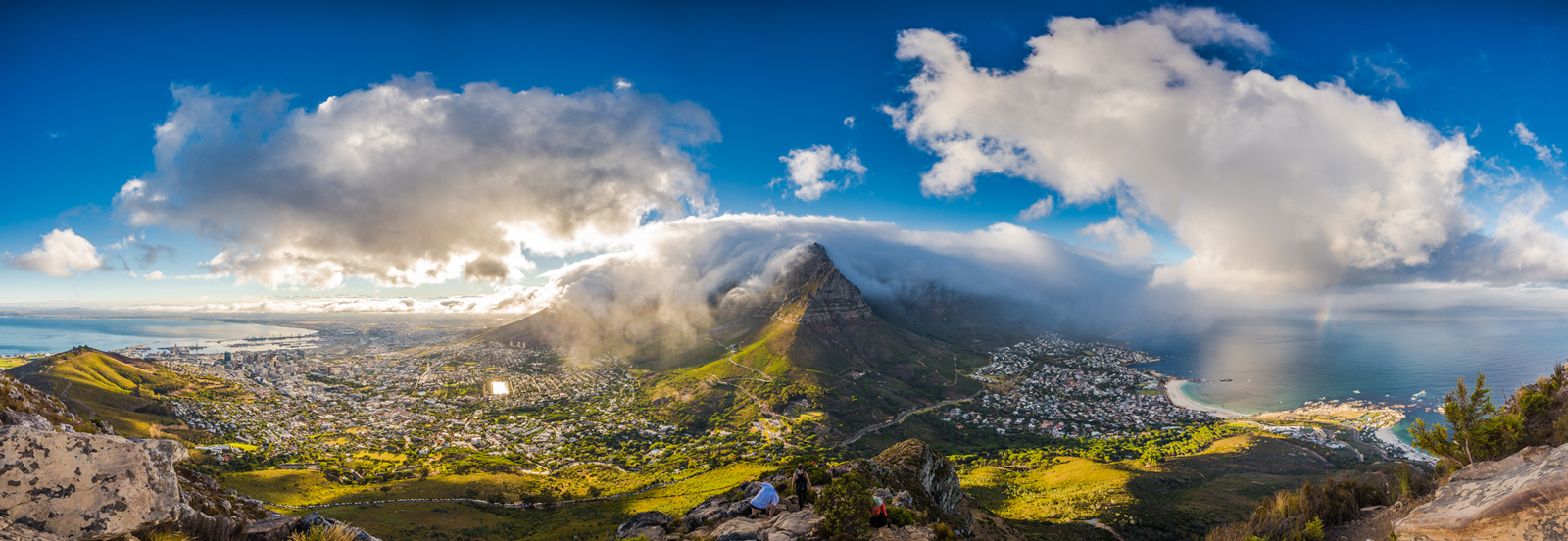 Panoramic of Cape Town, South Africa ©Denis Roschlau