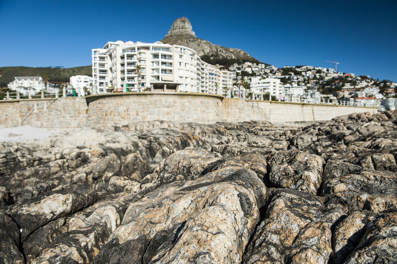 These rocks in Sea Point were visited by Charles Darwin on his epic voyage around the world in 1836 ©Justin Fox