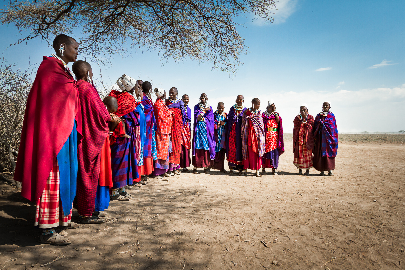 Maasai women at Ngorongoro Conservation Area, Tanzania ©Alessandro Tramonti