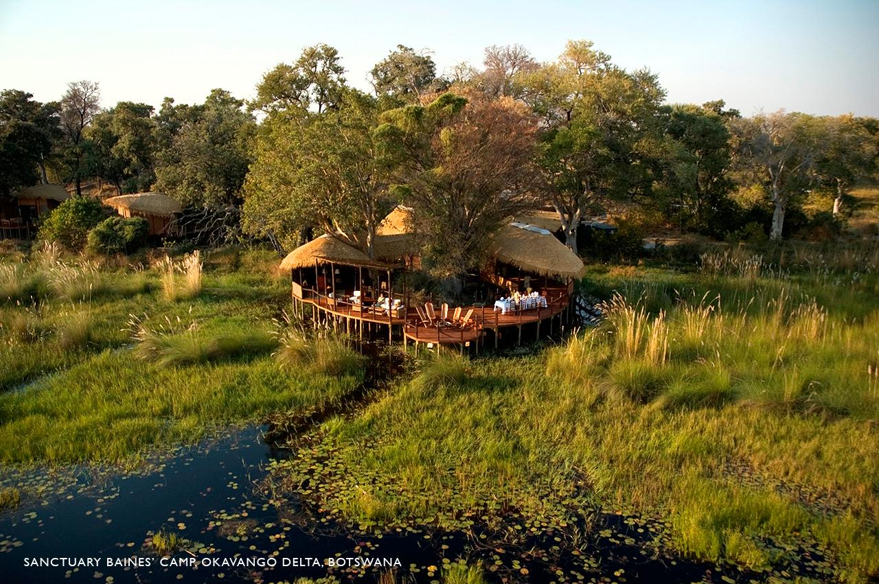 Sanctuary-Baines-Camp---Okavango-Delta,-Botswana