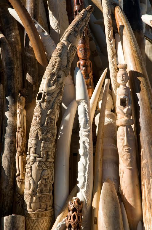 ivory trinkets AWF  Barbara von Hoffman