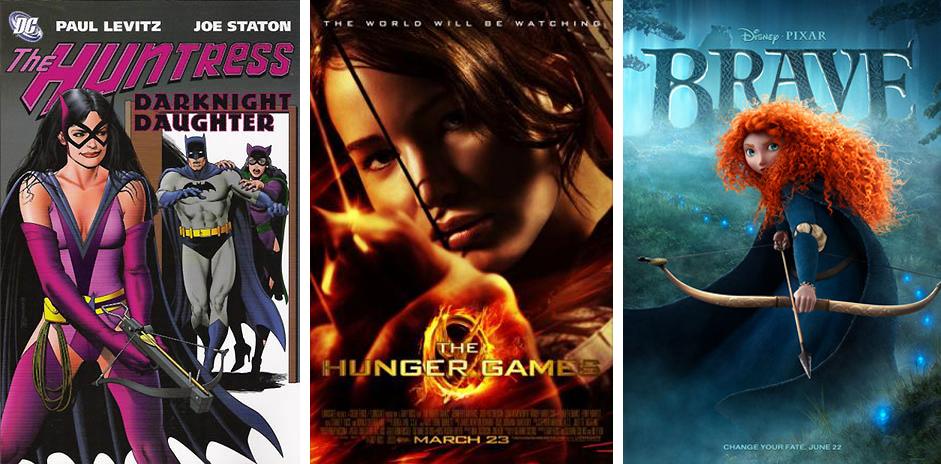 huntress DC and Katniss 2
