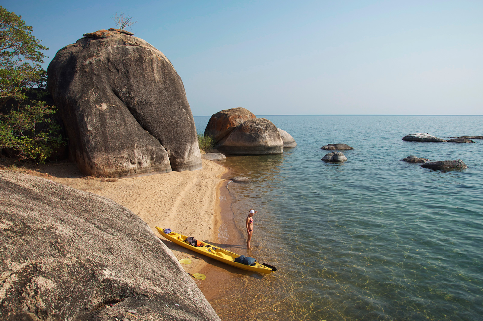 African-adventure-jeff-tyser-kerryn-lee-maggs-Lake_Malawi_Kayaking