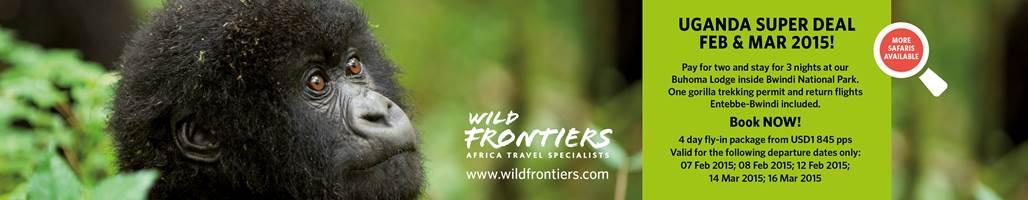 Wild frontiers Uganda ad