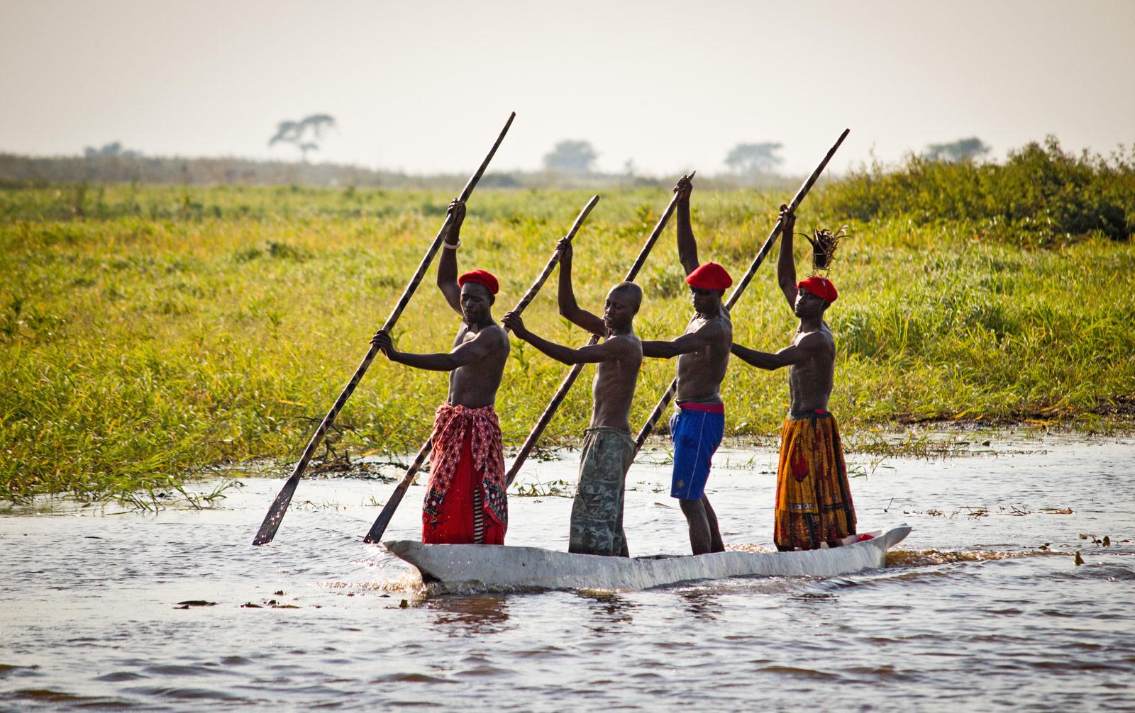 liuwa Kuomboka ceremony zambia