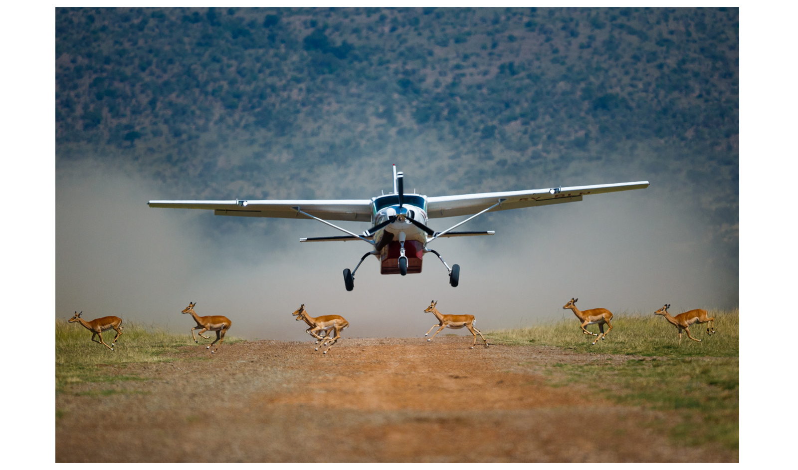 maasai mara flight landing strip