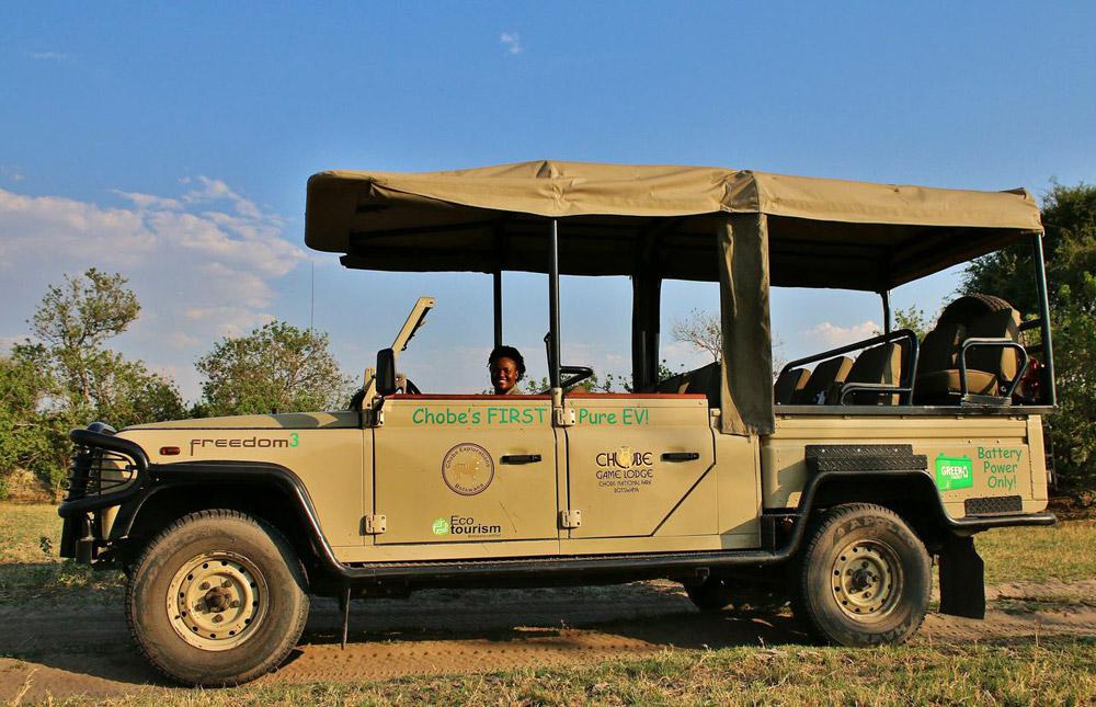 battery powered safari vehicle