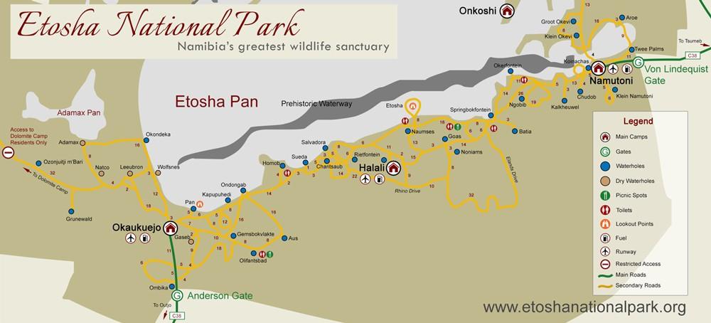 etosha-national-park-road-map
