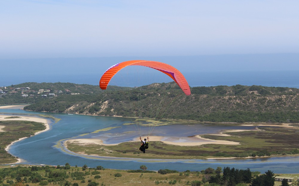 Taking to the skies with Altitude Paragliding ©David Winch