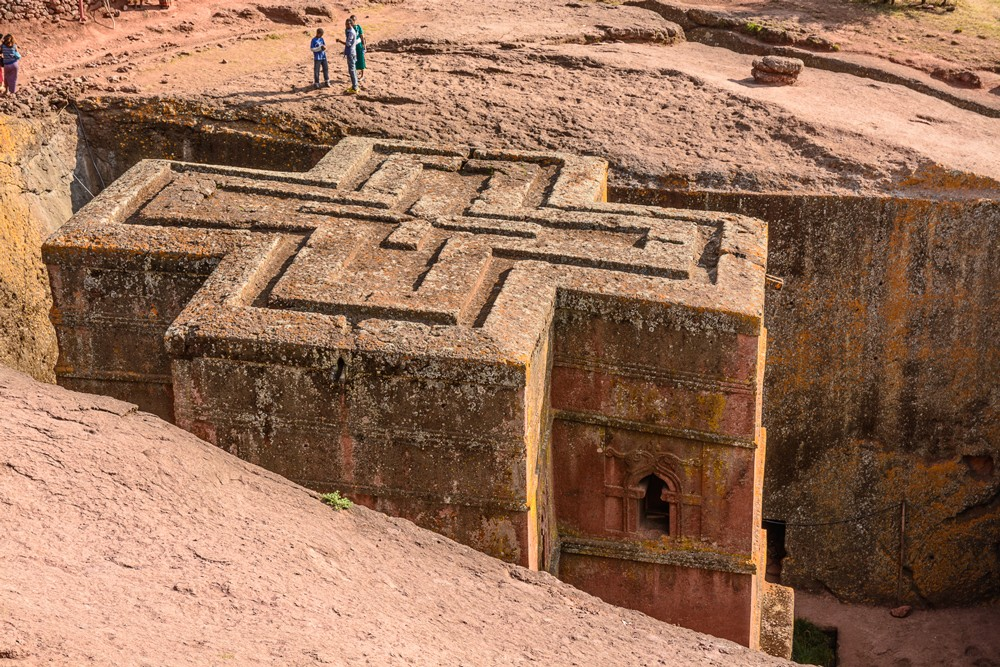Church of St George in Lalibela ©Ken Haley