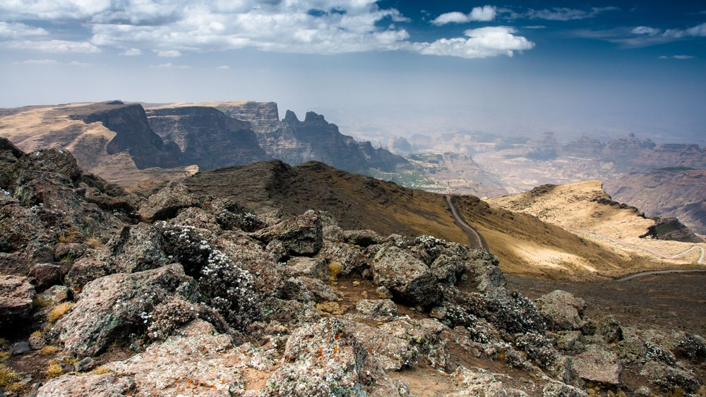 The spectacular Simien Mountains ©Limalimo Lodge