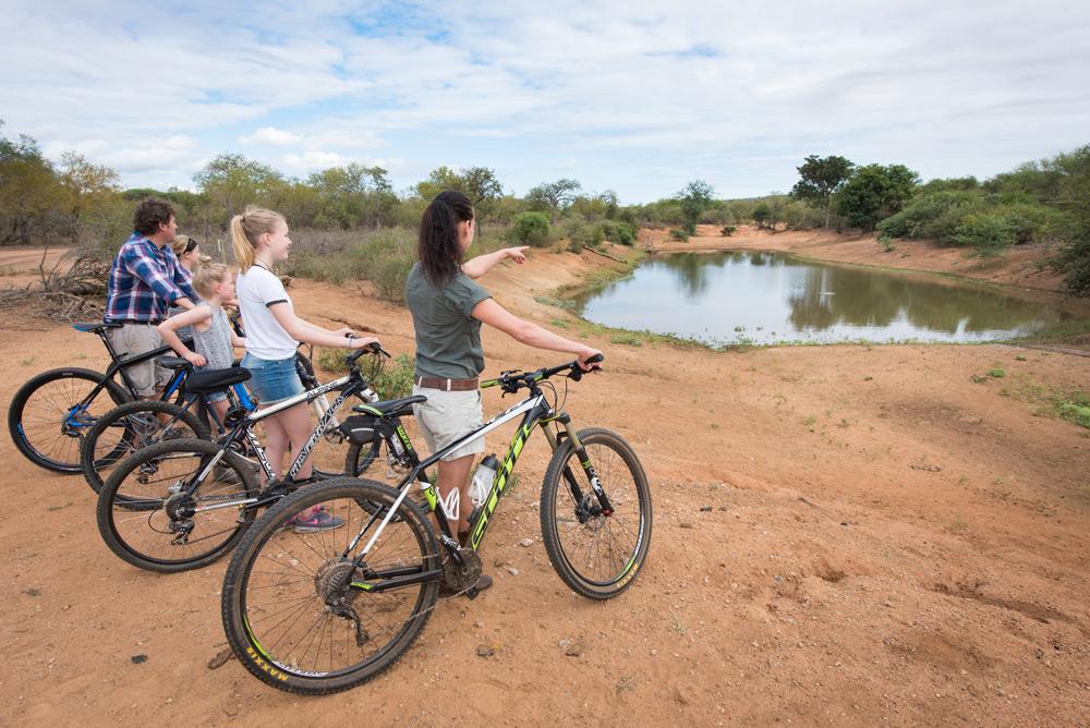 Go on a two-wheeled safari at Unembeza Boutique Lodge in the Hoedspruit Wildlife Estate ©Unembeza Boutique Lodge