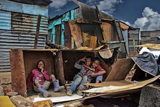 20-children-create-makeshift-house-in-motsoaledi-informal-settlement-ilan-ossendryver