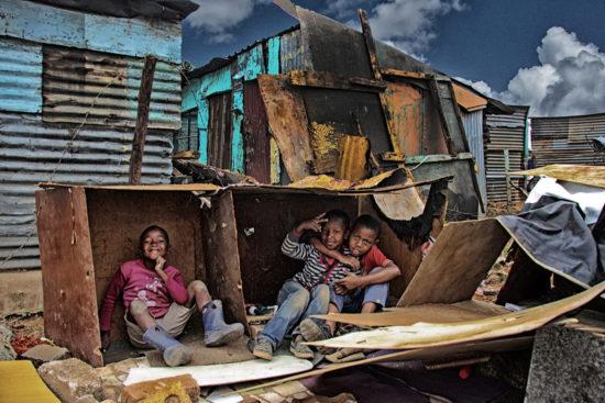20-children-create-makeshift-house-in-motsoaledi-informal-settlement-ilan-ossendryver