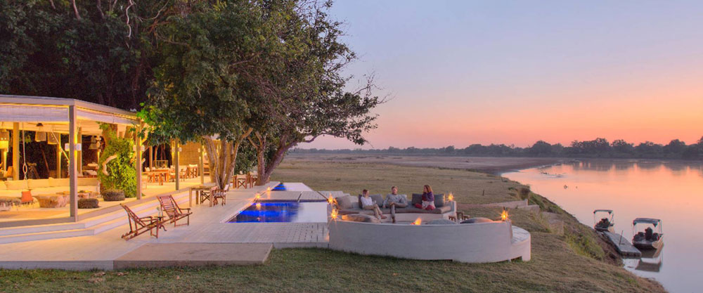 Designed by award winning architects Silvio Rech and Lesley Carstens, Norman Carr Safaris' Chinzombo Camp brings new levels of comfort, style and elegance to the Luangwa Valley.