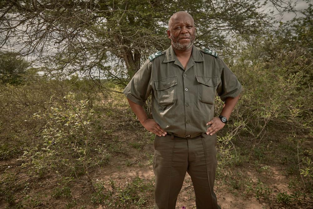 Kruger Park chief ranger, Xolani Nicholus Funda