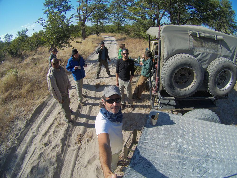 safari, safari vehicle, people, Moremi, Botswana