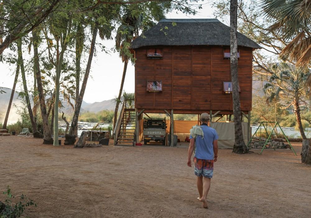 Epupa Falls Lodge in northern Kunene