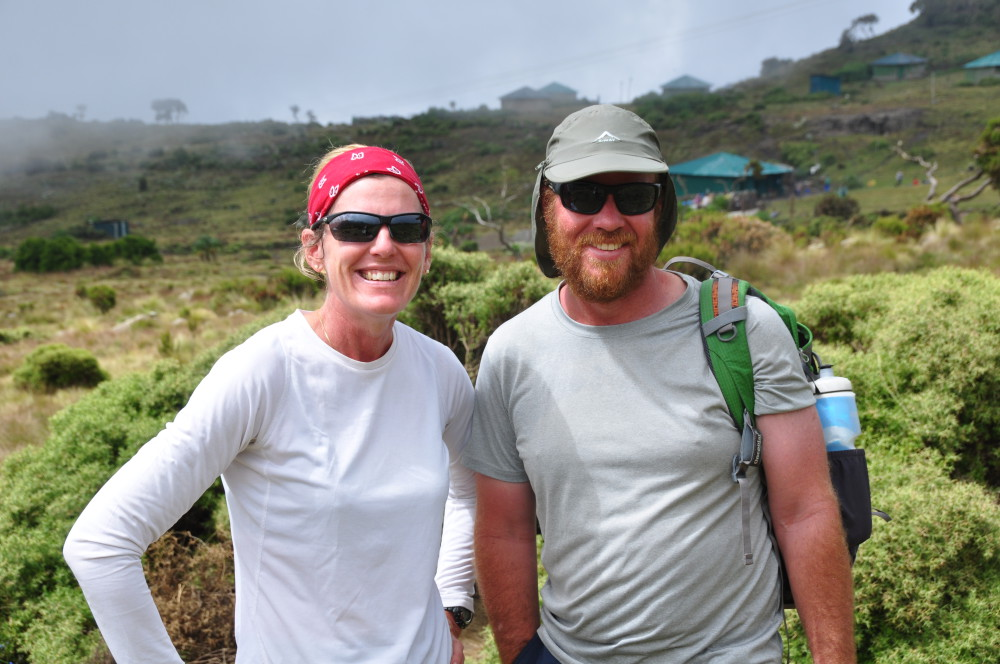Sarah and her husband embark on their Ethiopian adventure ©Klaus Parey