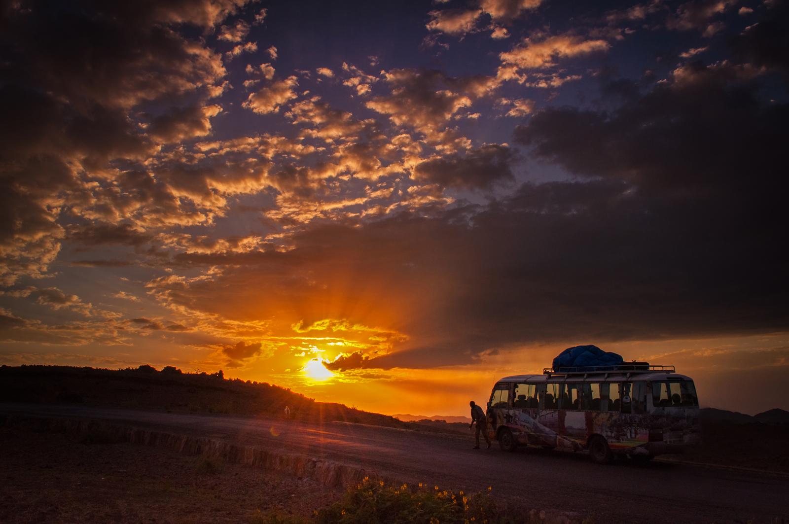 On the road to Lalibela ©Luca Zanon