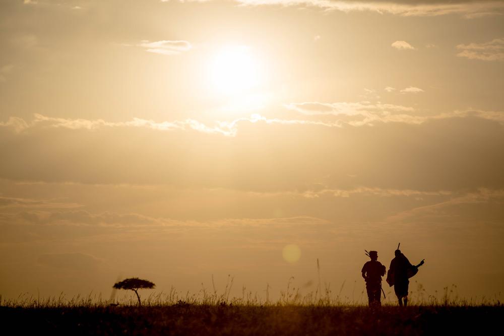 sunset-silhouette-walking-maasai-stuart-price-make-it-kenya