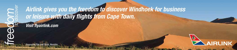 airlink windhoek advert