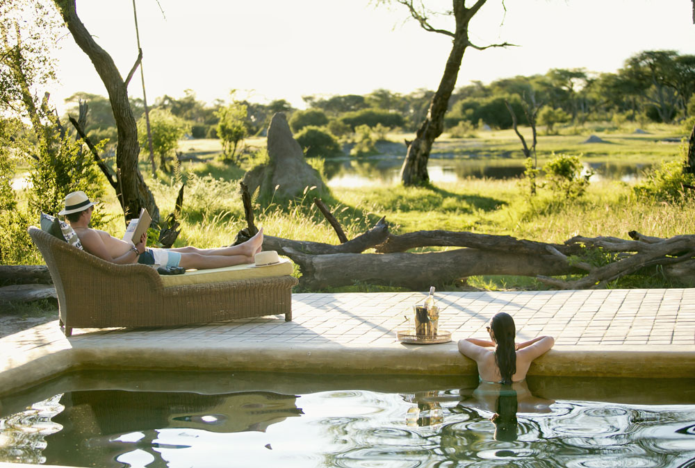 At The Hide, the emphasis is on peace, relaxation and great game viewing.