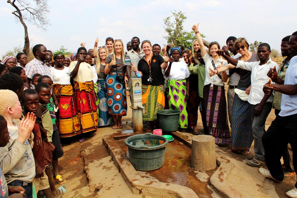 Waterpump given to kasungu national park