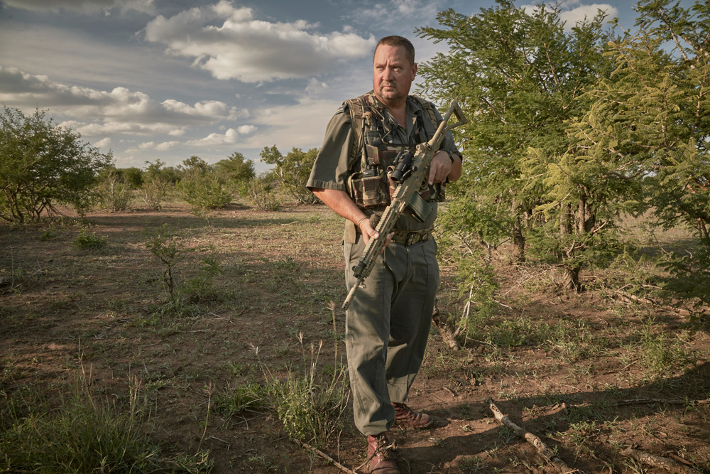 Section ranger on patrol