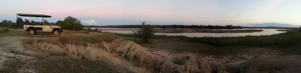 A view of the mighty Great Ruaha River