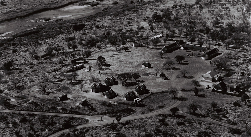 Lower Sabie aerial view, Kruger, 1948