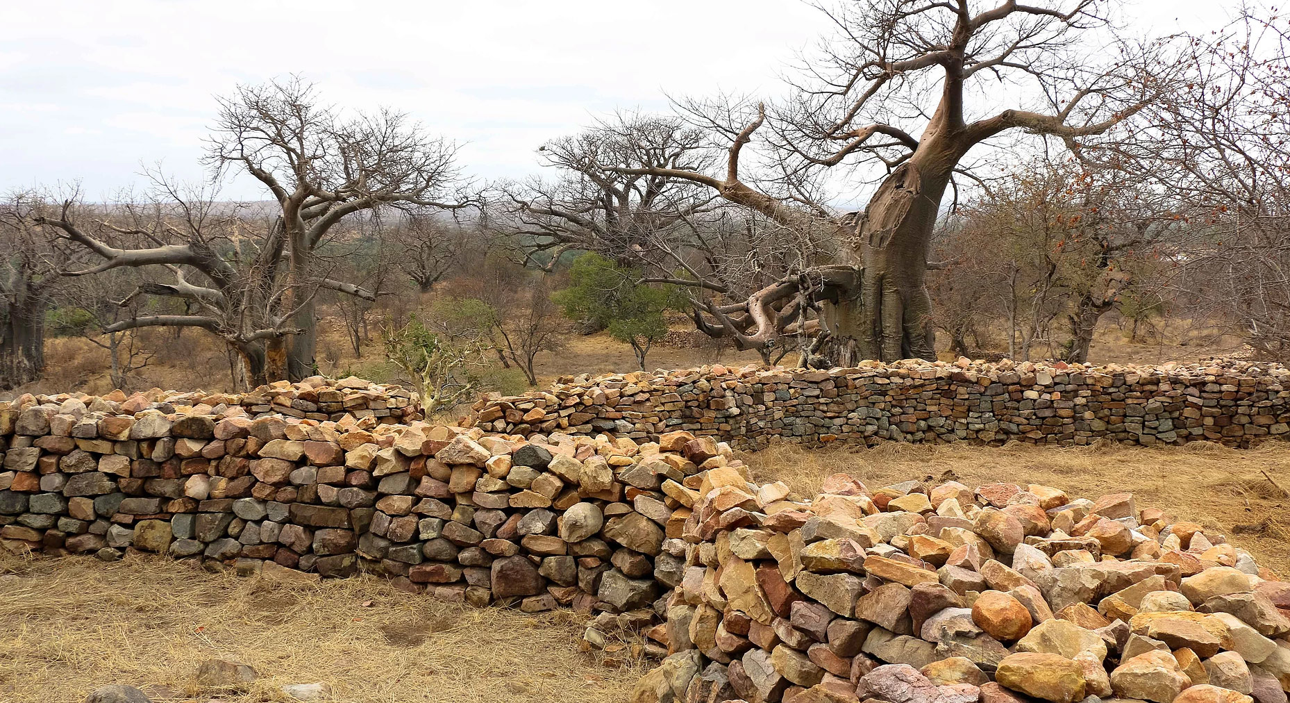 Thulamela ruins in Kruger National Park