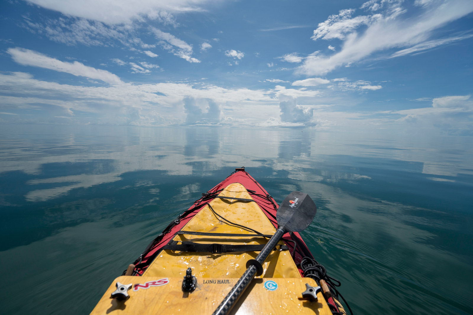 Lake Victoria viewed from a kayak