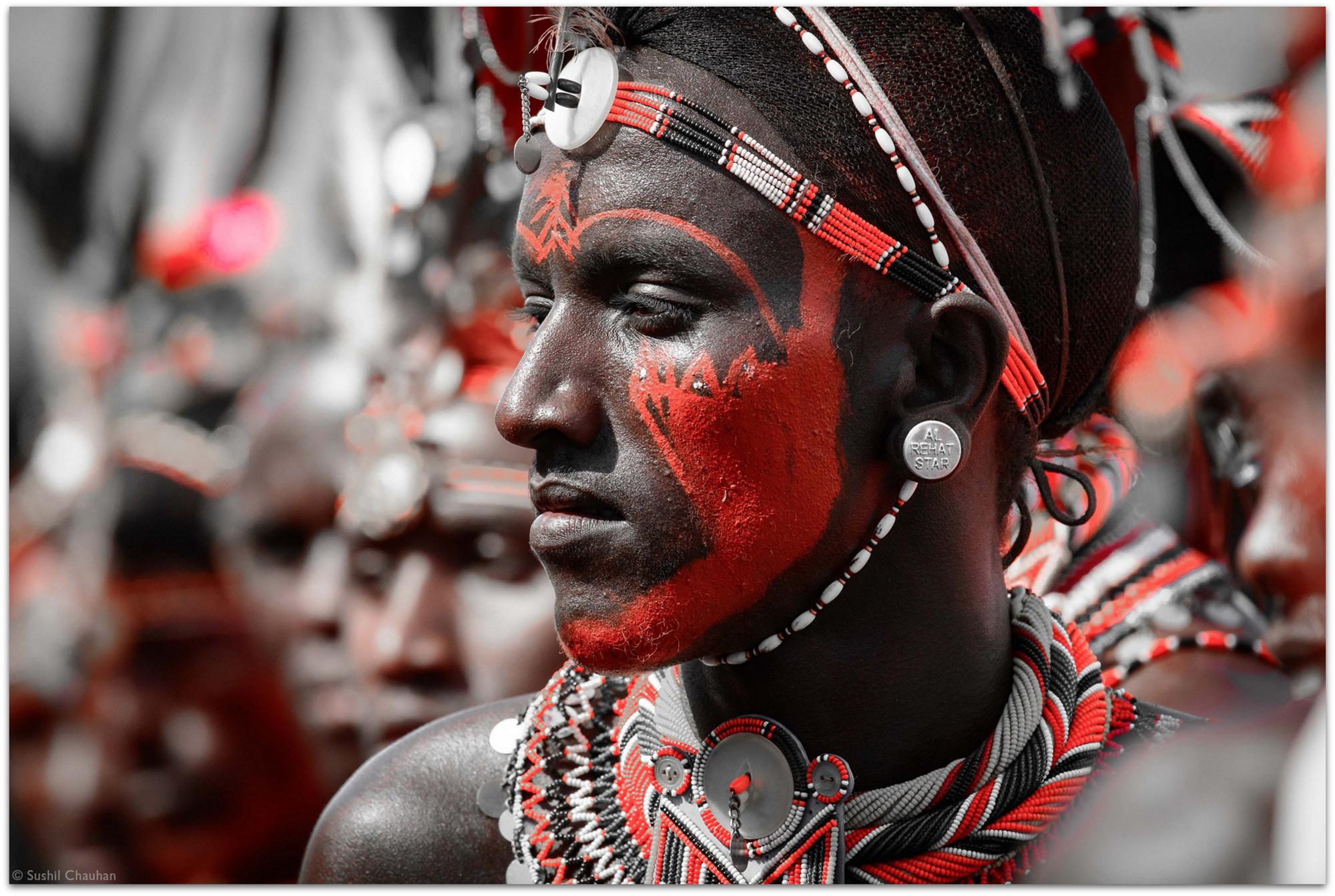 Cultural festival at Lake Turkana, Kenya © Sushil Chauhan