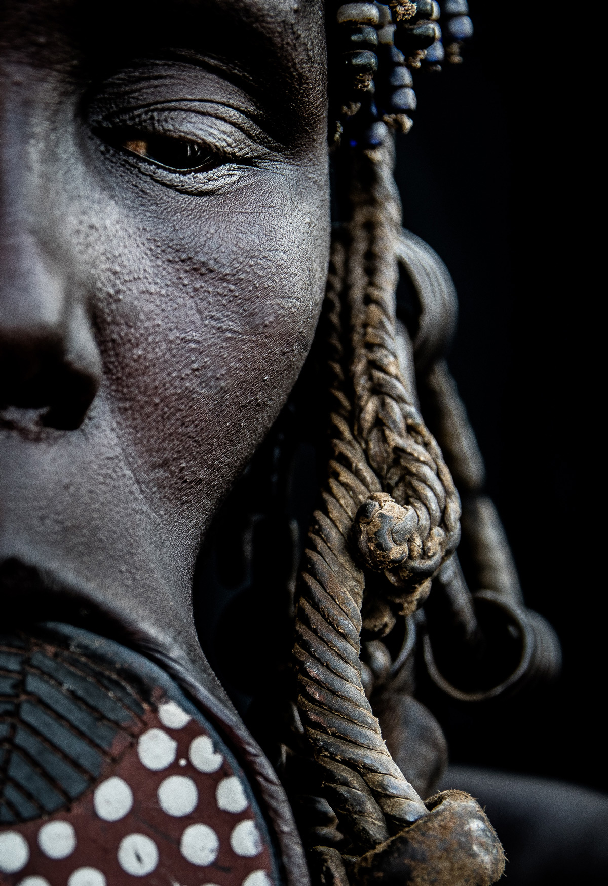 A Mursi woman in Omo Valley, Ethiopia © Janet Regan