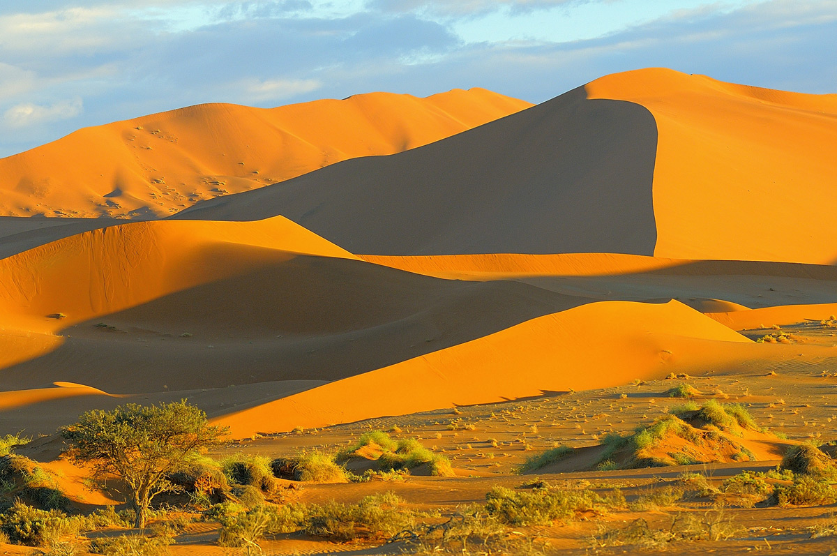 Sesriem in the Namib Desert, Namibia © Vittorio Ricci
