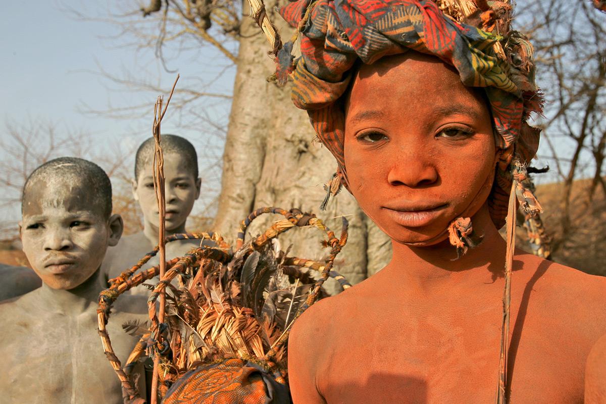 Gourma boys at an initiation ceremony near the Niger-Burkina Fasso border © Jesus Amunarriz Agueda