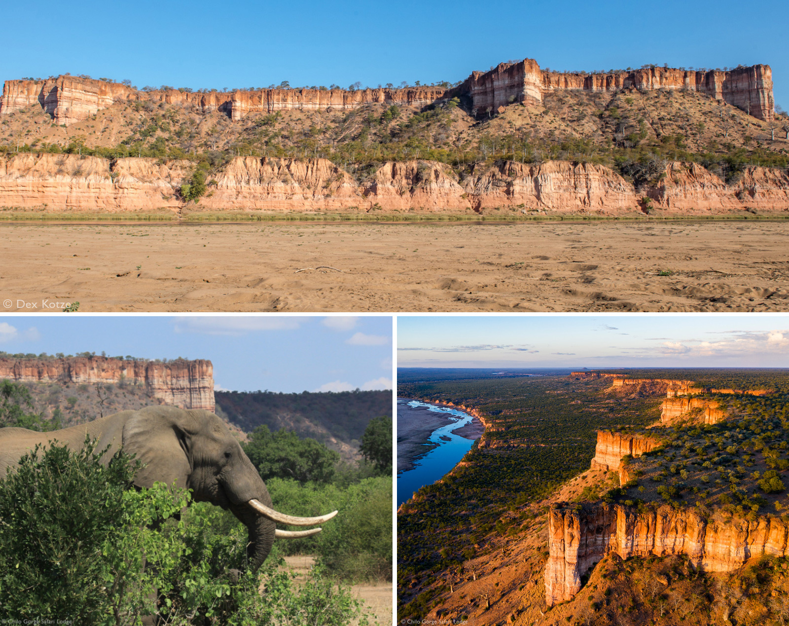 Chilojo Cliffs in Zimbabwe