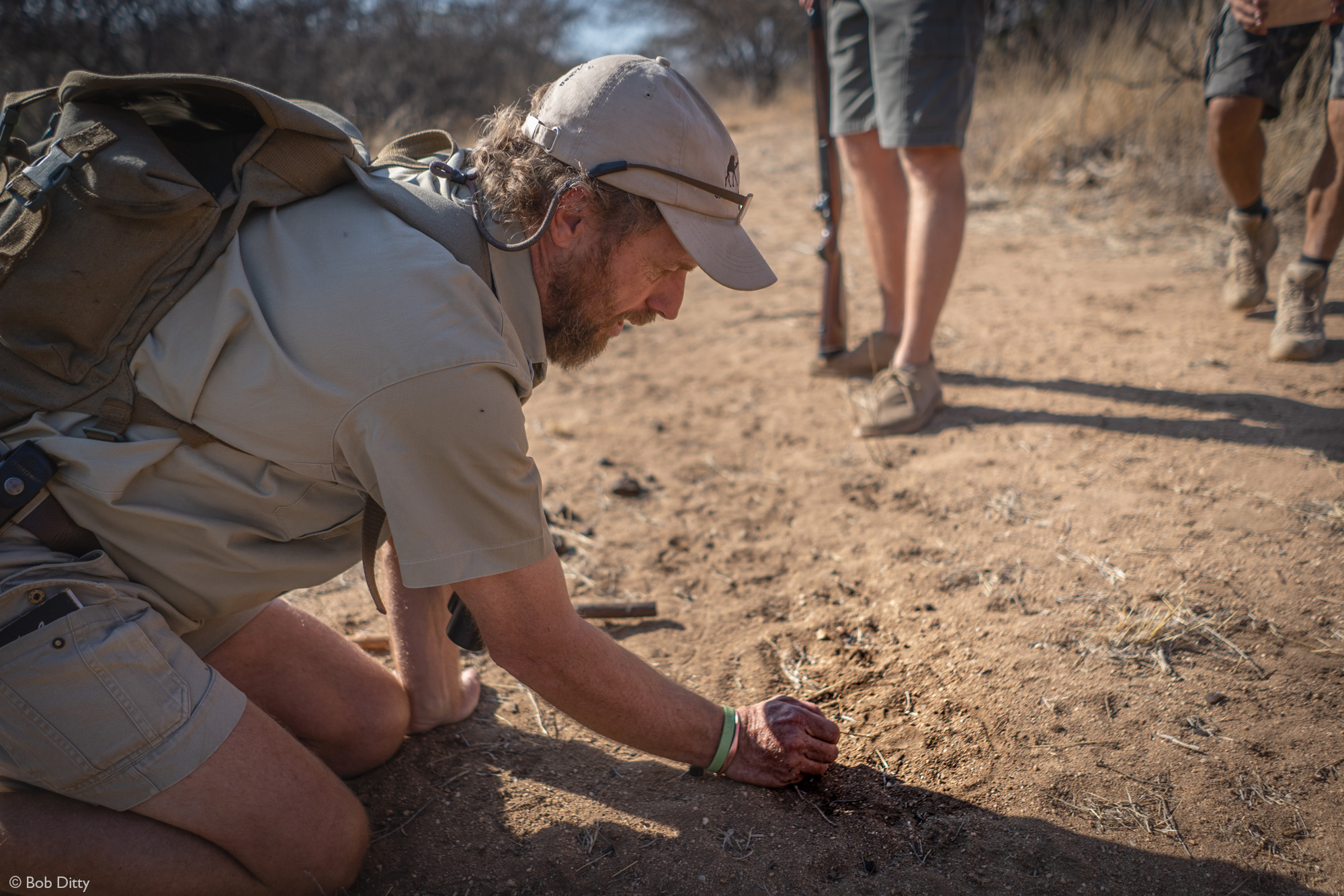 Alan McSmith, game ranger, guide, in Klaserie Private Nature Reserve, South Africa
